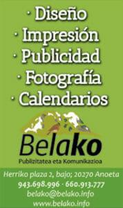 Belako, diseinua, inpresioa, publizitatea, argazkilaritza, egutegiak, etab.