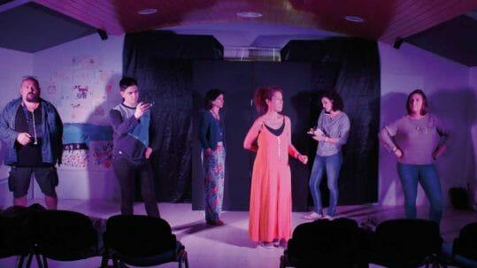 Ester Poveda, con el teatro por el mundo