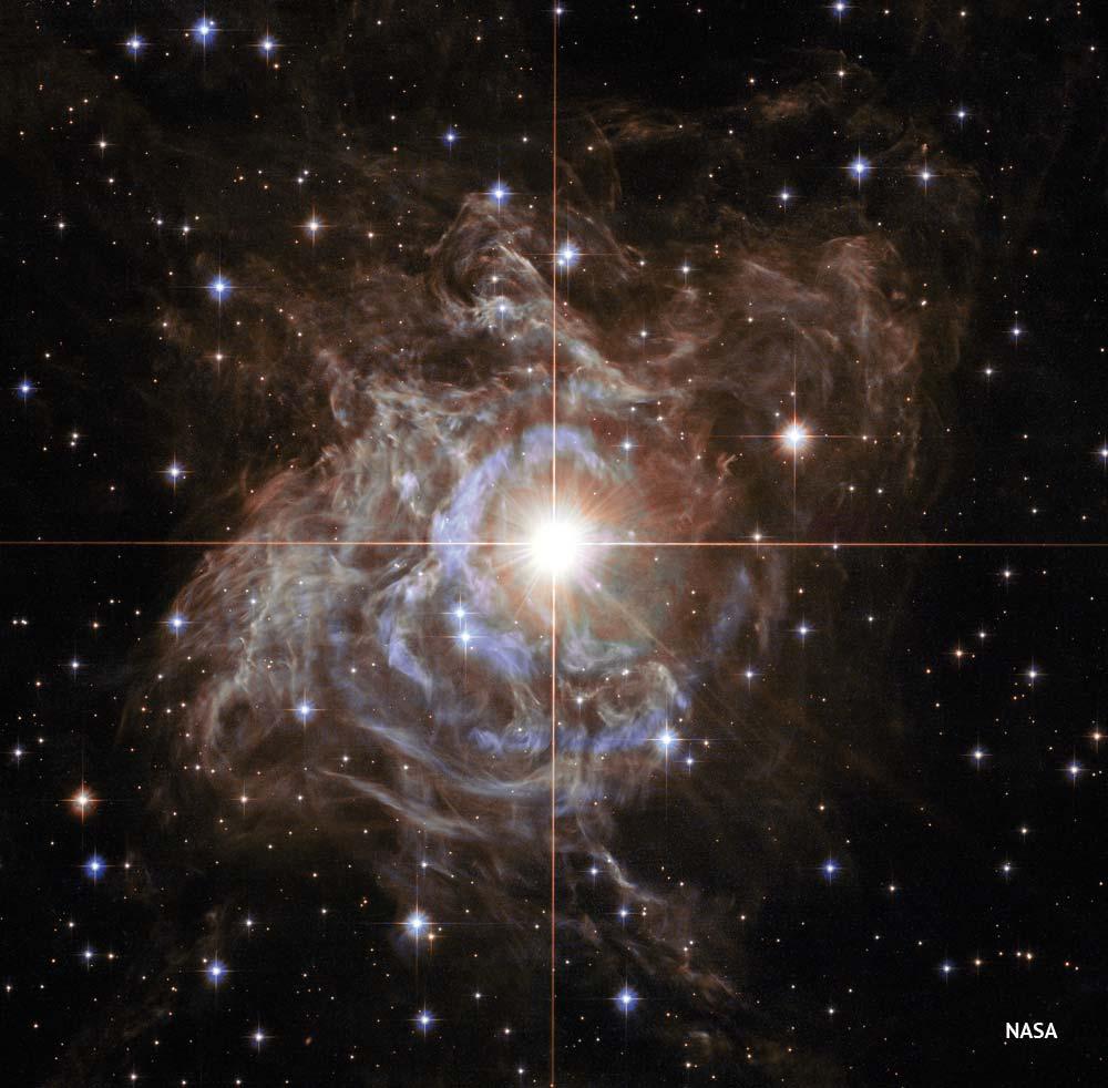 RS Puppis desde el telescopio espacial Hubble