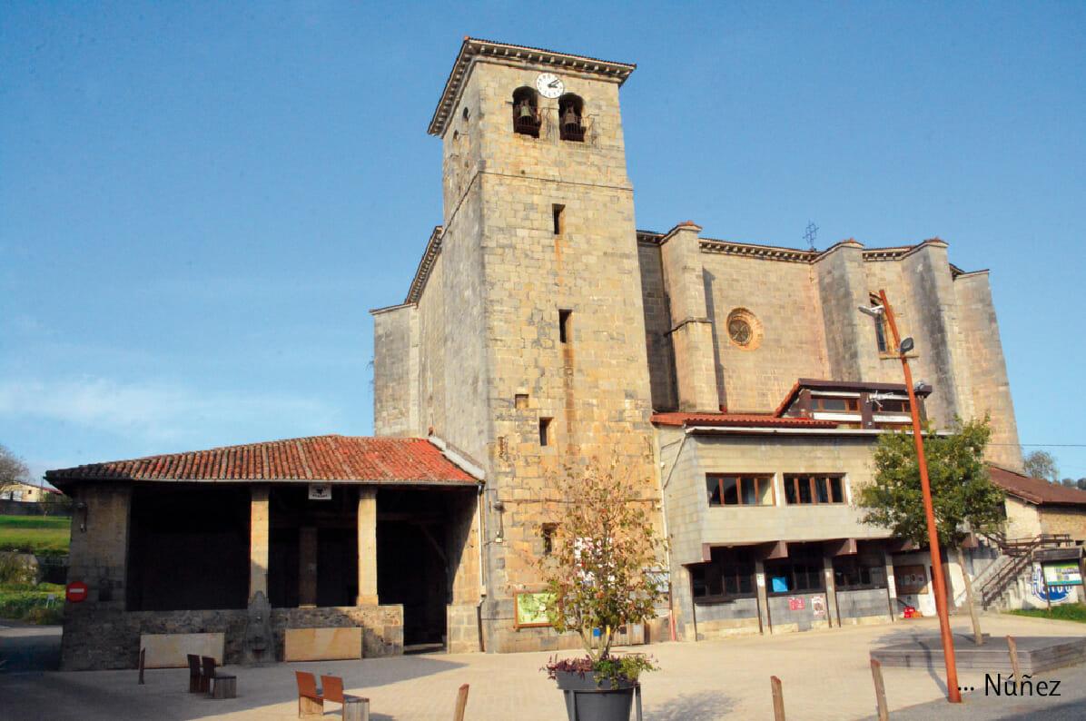 Zizurkil iglesia de San Millán