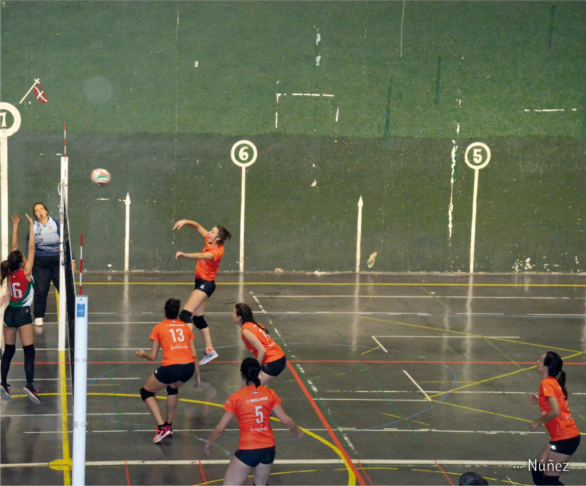 Tolobolei, nueva cantera de voleibol en Tolosa