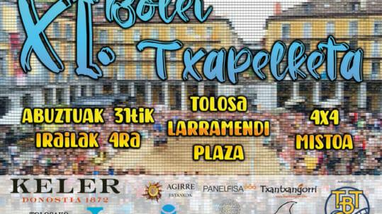 El XI Campeonato de Voley Playa de Tolosa se jugará del 31 de agosto al 4 de septiembre