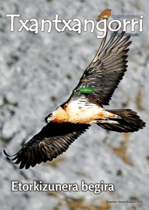 Txantxangorri aldizkaria 105 portada